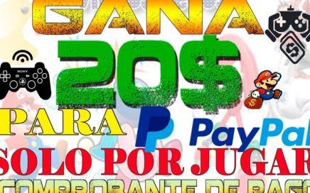 Como Ganar 20$ SOLO POR JUGAR +COMPROBANTES DE PAGO.