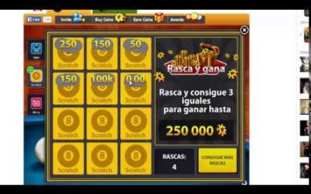 truco 8 ball pool engañar al juego  ganar dinero asta 100k