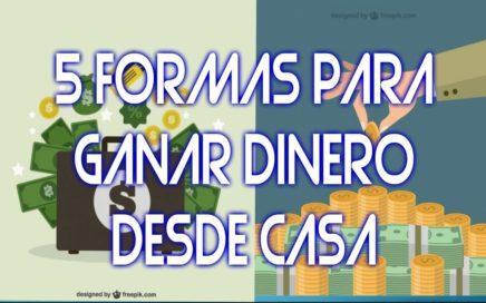 5 Formas para GANAR Dinero DESDE CASA || Derrota la Crisis Colombia ||