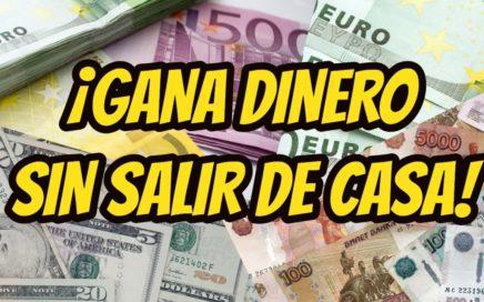 ¡APRENDE A GANAR DINERO SIN SALIR DE CASA!- ¿Se puede hacer?