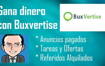 Buxvertise Explicación 2017 | Sólo PTC's confiables | Trabaja desde casa y gana dinero.