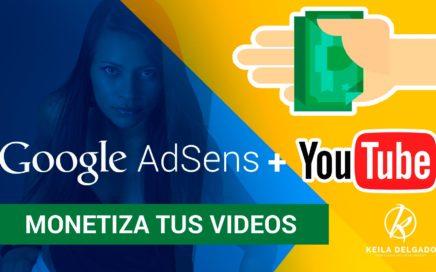 Como asociar mi canal de youtube a google adsense 2016 Ganar dinero