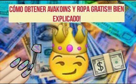Cómo conseguir DINERO Y ROPA GRATIS en avakin life!