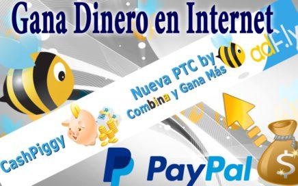 Como Ganar Dinero Con CashPiggy PTC de Adfly 2015 HD