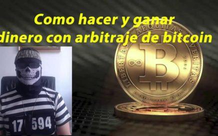 Como ganar dinero con trading y arbitraje de bitcoin