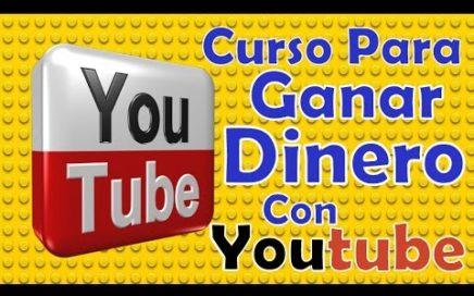 """COMO GANAR DINERO CON VIDEOS DE YOUTUBE """"CURSO COMPLETO"""" 2016"""