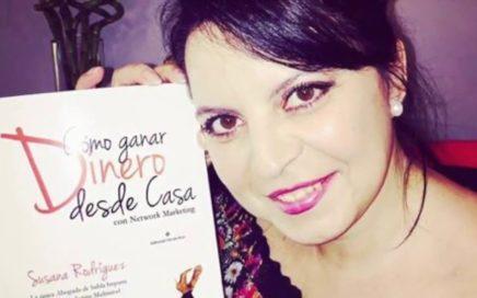 """""""Cómo ganar dinero desde casa"""", libro escrito por Susana Rodriguez, abogada experta en MLM"""