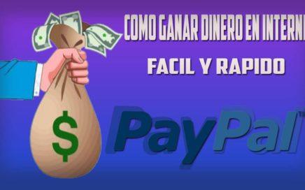 Como ganar dinero en Internet rapido y Legal |Para tu PayPal|2015