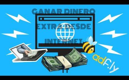Como ganar dinero extra desde INTERNET (Adf.ly) 2016