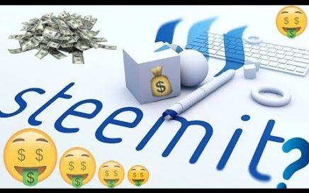 COMO GANAR DINERO FACIL CON  STEEMIT$$$