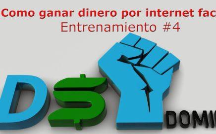 Como Ganar Dinero facil por Internet oportunidad de negocio DS Domination Drop shipping- Parte 4