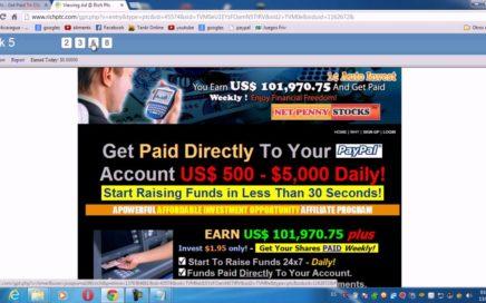 como ganar dinero facil rapido 1000 dolares un dolar por cada click 12 de agsto 2013