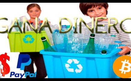 Como ganar dinero por internet Reciclando- Gana dinero con el reciclaje