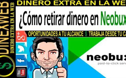 Como retirar dinero en Neobux 2016 |  DINERO EXTRA EN LA WEB