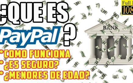 Como usar PayPal Y Ganar Dinero o Pagar POR iNTERNET // ¿Que es PayPal? 2017
