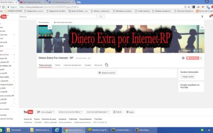 Dinero Extra por Internet | Vídeos de Ganar Dinero, Motivación, Exito, Bienestar, Ingresos Extras.