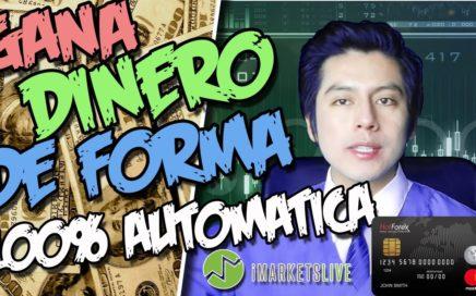 GANA DINERO DE FORMA AUTOMATICA | Como ingresar $500 de Fondos a HOTFOREX