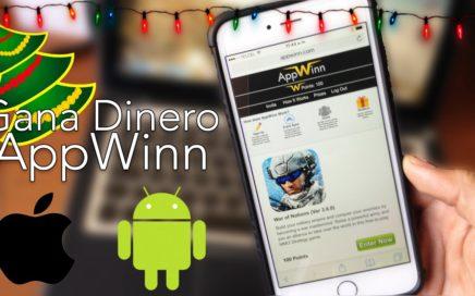 Gana Dinero Descargando Juegos y Aplicaciones con AppWinn |Android & iOS