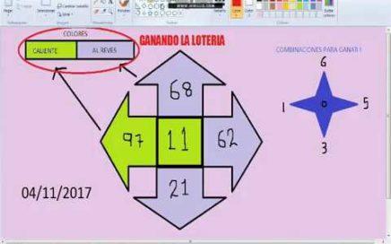 Gana Dinero facil -Numeros ganadores para hoy 04/11/17 / Como Ganar chance