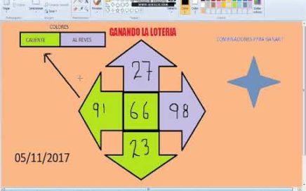 Gana Dinero facil -Numeros ganadores para hoy 05/11/17 / Como Ganar chance