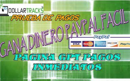 gana dinero online, facil y rapido, dollartracks, pago inmediato, ptc foro, ptc comunidad