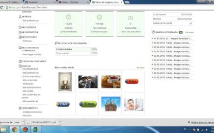 Gana dinero para Paypal vendiendo fotografías y vídeos en Fotolia