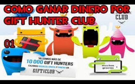 Ganar Dinero con Gift Hunter Club 2016 :: Paypal y Tarjetas Regalo