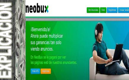 Ganar dinero con Neobux lExplicacion De Como Empezar a Generar dinero Extra