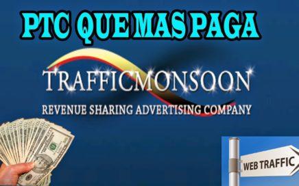 Ganar dinero para tu paypal | 60 dolares diarios | Traffic Monsoon