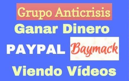 Ganar dinero Paypal viendo vídeos
