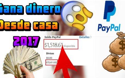 ganar dinero por internet 2017 paypal real cpm alto