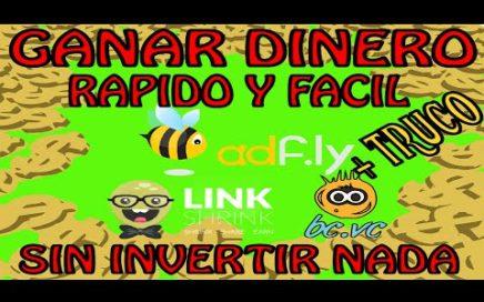GANAR DINERO RAPIDO Y FACIL SIN INVERTIR NADA (+ TRUCO) - [2015]