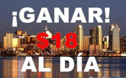 GANAR HASTA $18 DOLARES AL DÍA   FACIL Y RAPIDO   Por PayPal 2017.