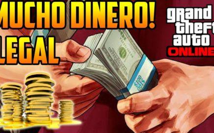 GTA 5 Online - Ganar Mucho Dinero Rápido 100% Legal (GTA V)
