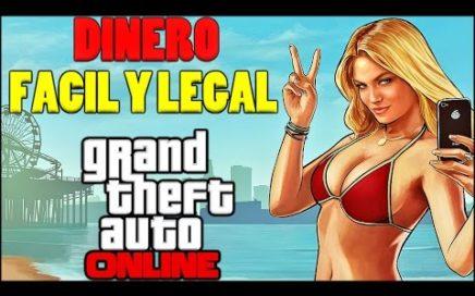 GTA V ONLINE | Como Ganar Dinero Facil Y Legal Sin Ayuda | GTA 5 ONLINE
