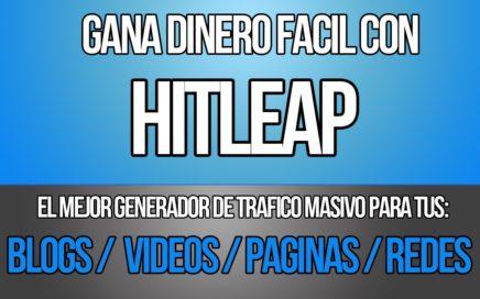 HITLEAP | Ganar dinero facil por internet con HITLEAP |FEBRERO 2017|