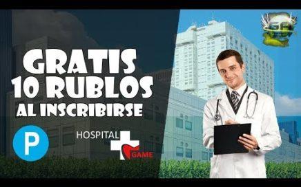 Hospitalgame tutorial página rusa SCAM!  gana dinero para payeer!