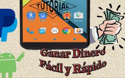 La mejor APLICACION Para GANAR Dinero Fácil y rápido con tu teléfono ANDROID con PAYPAL !GRATIS