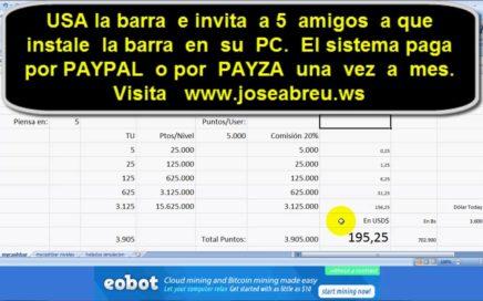 MyCashBar make money. Gana dinero online.