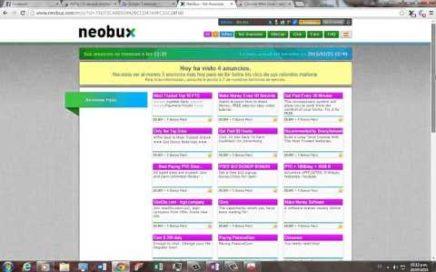 NEOBUX 2015: La mejor PTC para ganar dinero online