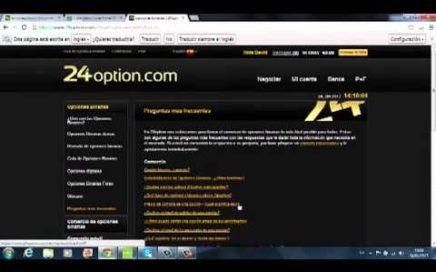 Opciones Binarias Gana dinero con 24 Option