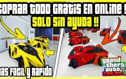 (SOLO SIN AYUDA) *NUEVO COMPRAR TODO GRATIS! EN GTA V ONLINE MAS FACIL Y RAPIDO QUE NUNCA