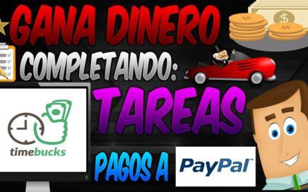 TimeBucks Gana Dinero con Tareas, Juegos, Selfies, Ofertas, Encuestas, Videos   Dinero Online