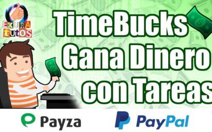 TimeBucks   Gana Dinero Haciendo Tareas   Como Ganar Dinero Fácil por Internet   Guía para Empezar