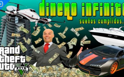 TRUCO GTA V ONLINE GANA DINERO INFINITO Y SIN ESPERAS PS4 / 1.22
