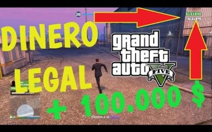 TRUCO PARA GANAR DINERO LEGAL GTA V PS4 1.40 - GTA V ONLINE