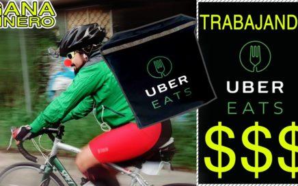 UBER EATS Experiencia (Mira como Ganar dinero en Bicicleta) x1