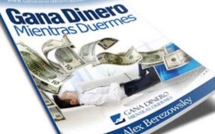 Audio Libro Gana Dinero Mientras Duermes de Alex Berezowsky