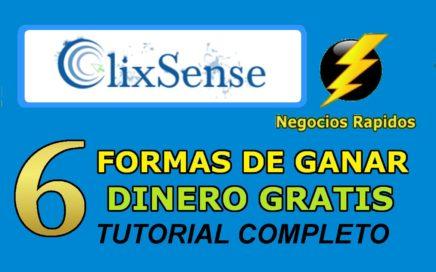 ClixSense en Español Tutorial  Actualizado 6 Formas de Ganar Dinero