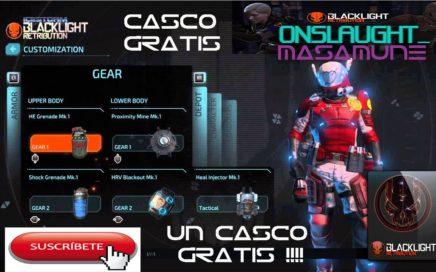 Como GANAR CASCO GRATIS y CAMUFLAJE en la Nueva EXPANSIÓN ! | BlackLight Retribution
